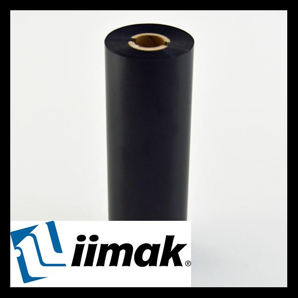 TTR fargebånd til etikettskriver 110 mm x 74 m Wax